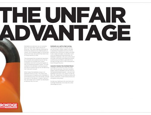 Iron Edge: The Unfair Advantage Advert